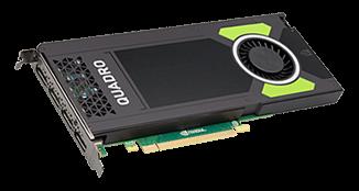 NVIDIA Quadro M4000 8GB GDDR5 Grafikkarte - 4x DisplayPort, 1x DisplayPort to SL-DVI Adapter